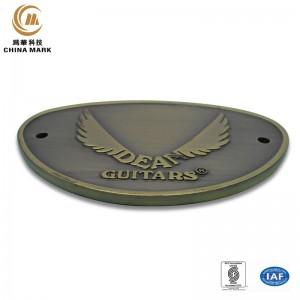 Custom metal name badges