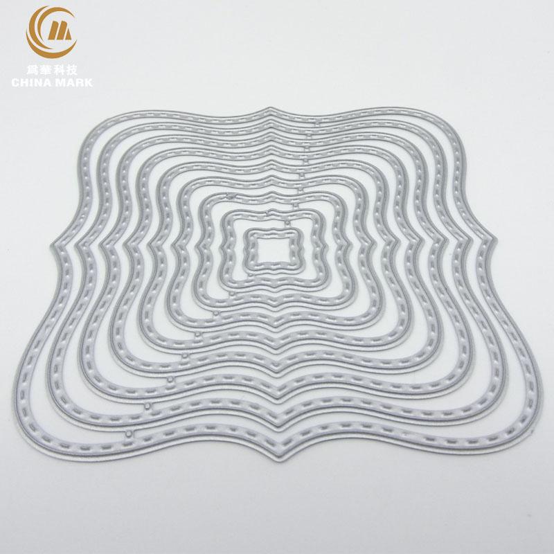 DIY Die Scrapbook Etching Heart-shaped Lace Carbon Steel Die