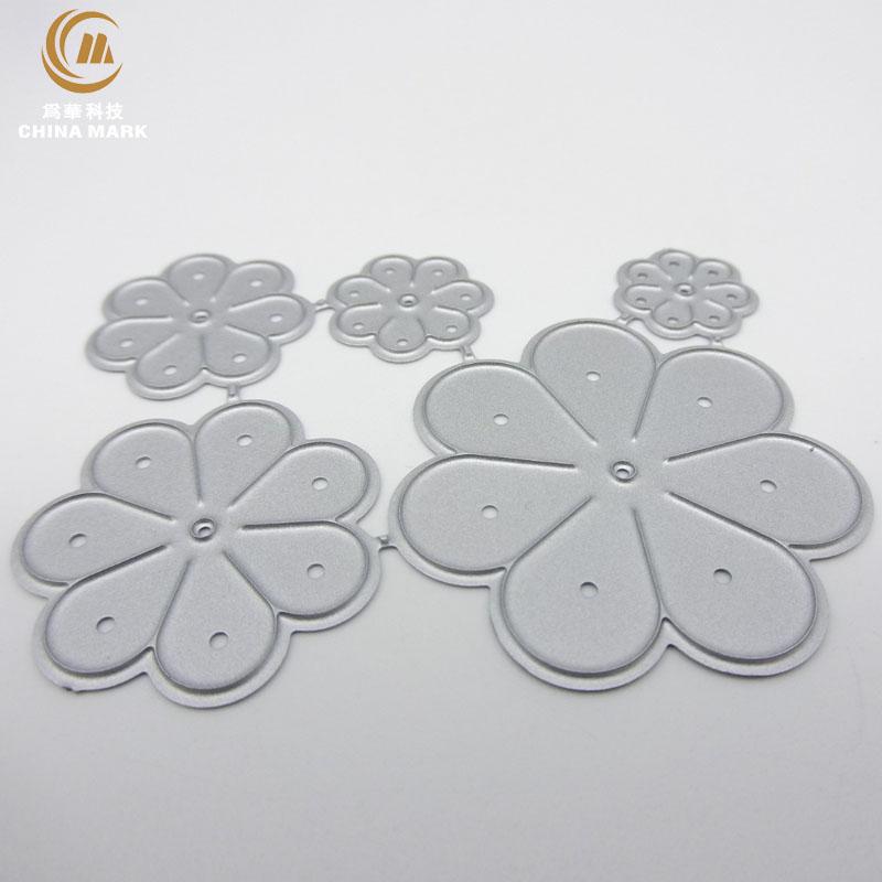 DIY metal cutting dies from china, scrapbook metal etching five flower embossed carbon steel die cut