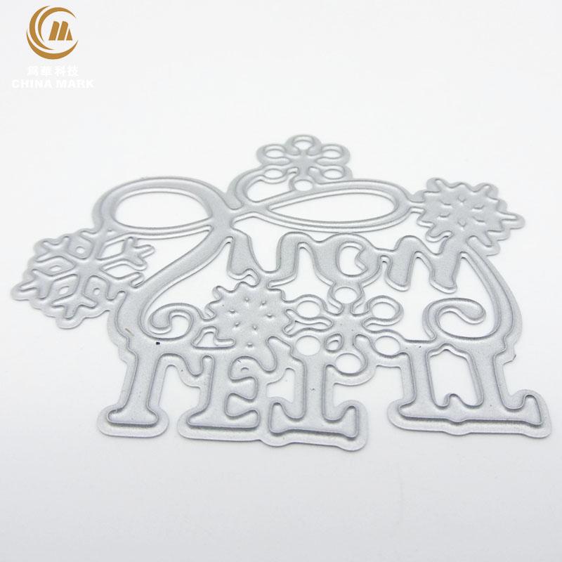 DIY metal die cuts for card making, scrapbook metal etching scrapbook letter flower carbon steel die cut