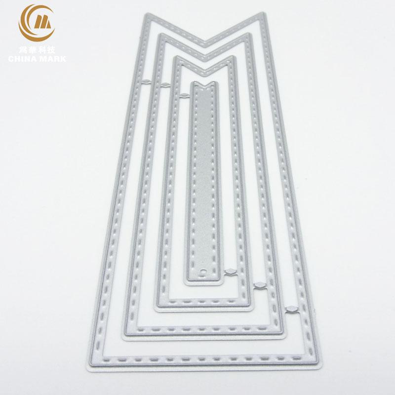 DIY metal die cuts, scrapbook metal etching bookmark carbon steel metal die cuts 1