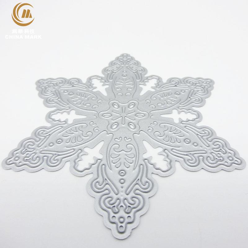 DIY metal dies for paper crafting, scrapbook metal etching Snowflake embossed carbon steel die cut