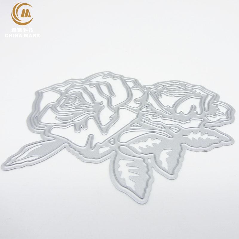 DIY steel rule die press, scrapbook metal etching rosette carbon steel metal die cuts